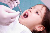 Dental examination — Stock Photo