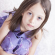 Adirable little girl portrait — Stock Photo
