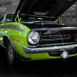 1970 Plymouth Barracuda Green — Stock Photo