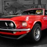 Постер, плакат: Ford Mustang 351