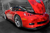 2011 Chevrolet Corvette SLP ZL610 — Stock Photo