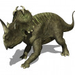 Stock Photo: Centrosaurus Dinosaur