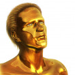 Visionary - Golden Man — Stock Photo