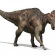 Stock Photo: Corythosaurus Dinosaur 2