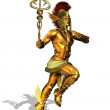 Greek God Mercury - Stock Photo