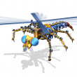 RoboFly — Stock Photo