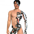 Human Cyborg - Stock Photo