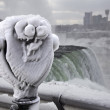 Winter Tourism at Niagara Falls - Foto Stock