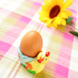 Egg for breakfast - Stock Photo