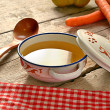 Rustic Broth — Stock Photo