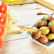 Mediterranean appetizer — Stock Photo