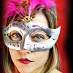 Fashion carnival woman — Stock Photo