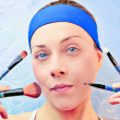 Make up girl — Stock Photo #19597125