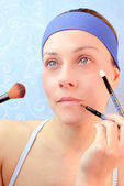 Make up girl — Stock Photo