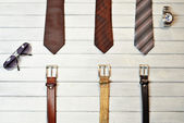 Fashion accessories for man — Stok fotoğraf