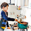The little chef — Stock Photo