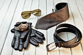 Accessories for man — Stock Photo