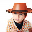 The little cowboy — Stock Photo #22289563