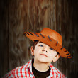 The little cowboy — Stock Photo
