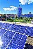 Fotovoltaïsche paneel — Stockfoto