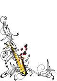Abstraction sur le jazz — Vecteur