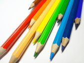 Crayons for drawing — Stock Photo