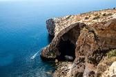 Blue Grotto, Malta — Stock Photo