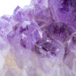 Amethyst crystal — Stock Photo