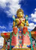 Buddha Maitreya Statue — Stock Photo