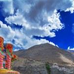 Buddha Maitreya Statue — Stock Photo #14046386