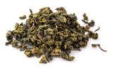 Dry oolong tea leaves — Stock Photo