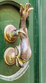 Traditional door handle, Malta — Stock Photo