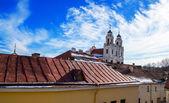Vilnius çatı görünümü — Foto de Stock