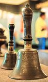 Tibetan religious bell — Stock Photo