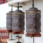 Buddhist prayer wheels — Stock Photo #32439175