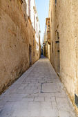 Mdina - silent city of Malta — Stock Photo