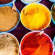 Traditional spices market in India — Stock Photo