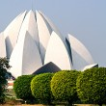 Lotus Temple in Delhi. India — Stock Photo #33629711
