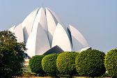 Lotus Temple in Delhi. India — Stock Photo