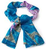 Colored scarf or pashmina — Stock Photo