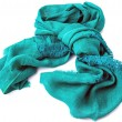 Linen scarf — Stock Photo