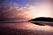 Sunset in Goa — Stock Photo