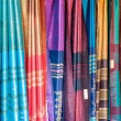 Stock Photo: Indisarees in market