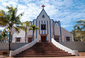 St. Anthonys Church, Galgibag Beach, Goa — Zdjęcie stockowe