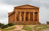 Templo de la concordia, agrigento, Sicilia, Italia — Foto de Stock