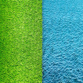 Grass and water — Stock Photo