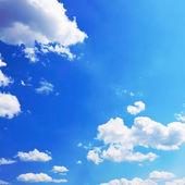Sonnig wolken — Stockfoto