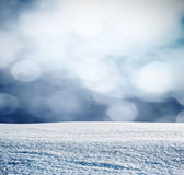 Snowy background — Stock Photo