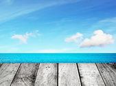 Wooden pier — Stock Photo