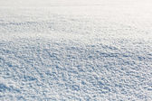 White snow — Stock Photo